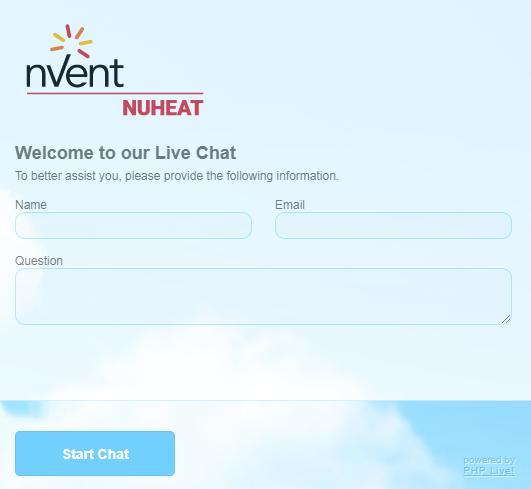 Nuheat Online Chat