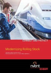 nVent SCHROFF helps railways modernize rolling stock.