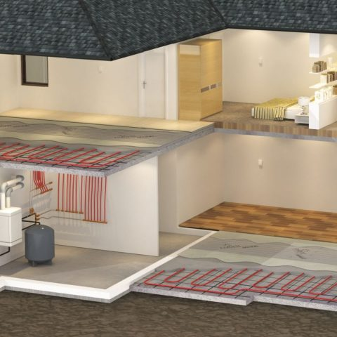 NUHEAT and Hydronic System Together
