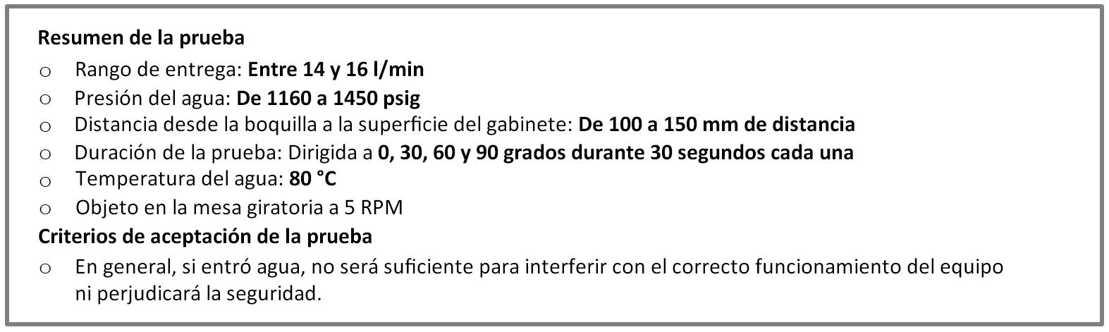 Protección IP69K, según las normas DIN