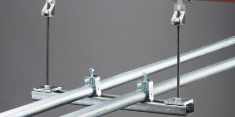 nVent CADDY Rod Lock Spring Steel Rod Hanger to Flange Clip
