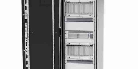 LHX rack with MTCA system