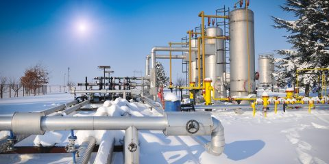 heat tracing for industrial freeze protection
